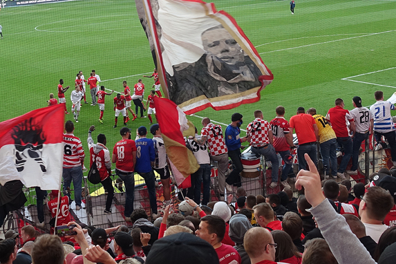 Abpfiff des letzten Auswärtsspiels in Frankfurt