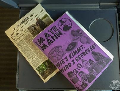Golden Times, das neue Hopping-Fanzine und der Mate Mann Vol. 5 - beste Lektüre für lange Auswärtsfahrten