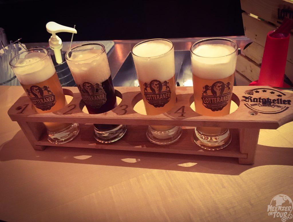 Gose statt Dose - Bierprobe im Ratskeller Leipzig