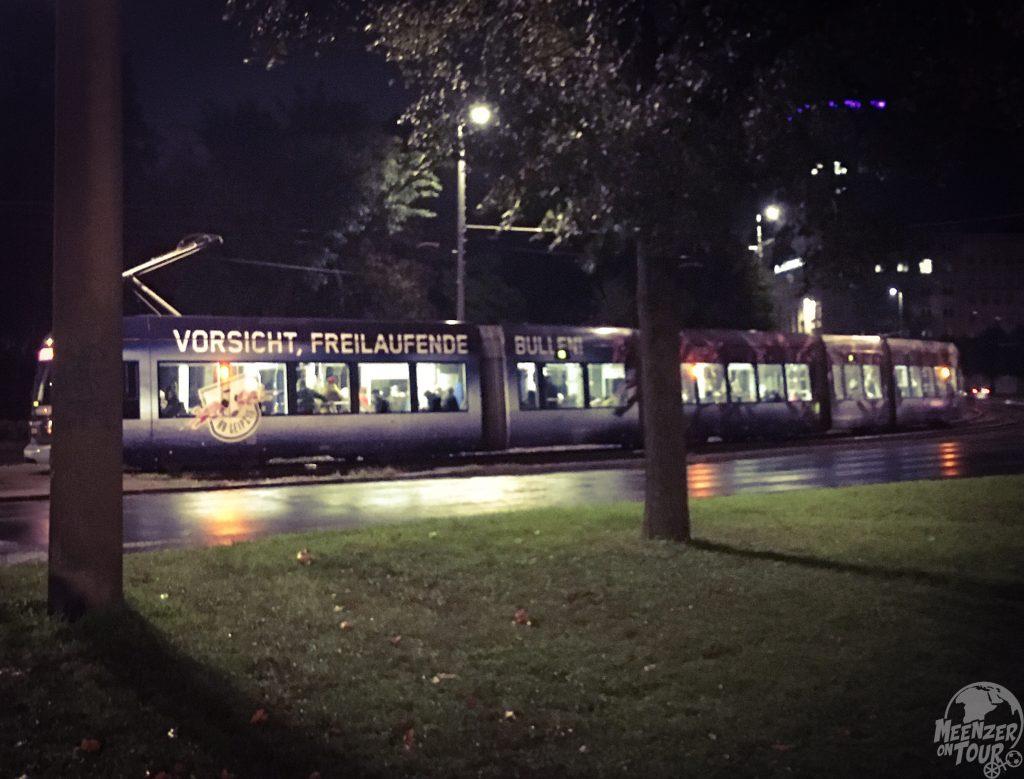 Freilaufende Bullen sind in Leipzig ok - Meinungsfreiheit nicht überall