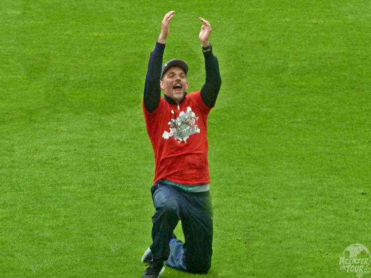 Tuchel nach dem 34. Spieltag der Saison 2013/14 und seinem letzten Tag als Trainer bei Mainz 05.
